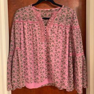Rebecca Minkoff Pink Shirt